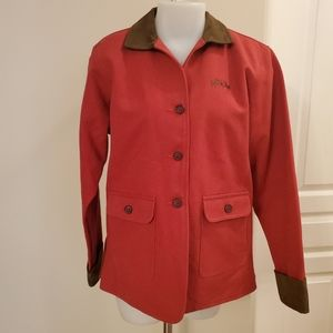Barn Coat Equine Couture Medium New Condition.
